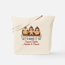 See Speak Hear No Diabetes 2 Tote Bag