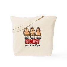 See Speak Hear No Diabetes 3 Tote Bag