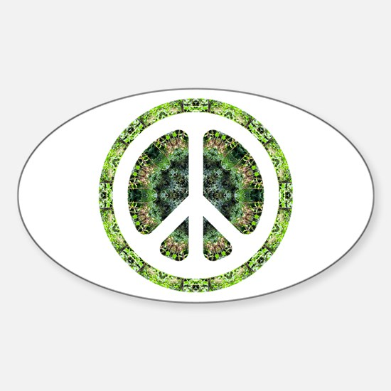 CND Floral7 Oval Decal