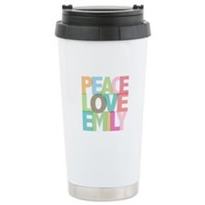 Peace Love Emily Travel Mug