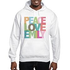 Peace Love Emily Hoodie