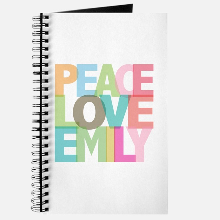 Peace Love Emily Journal