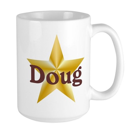 Personalized Doug Large Mug