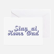 Stay at Home Dad Greeting Card