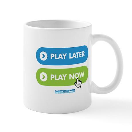 """""""Play Now"""" Coffee Mug"""