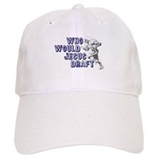 Fantasy Football Jesus Draft (WWJD) Baseball Cap