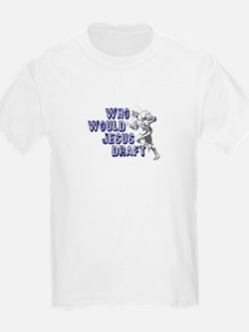 Fantasy Football Jesus Draft (WWJD) T-Shirt
