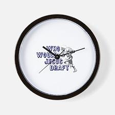 Fantasy Football Jesus Draft (WWJD) Wall Clock
