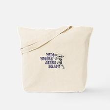 Fantasy Football Jesus Draft (WWJD) Tote Bag