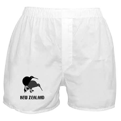 Funny New Zealand Kiwi Boxer Shorts