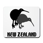 Funny New Zealand Kiwi Mousepad