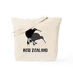 Funny New Zealand Kiwi Tote Bag