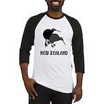 Funny New Zealand Kiwi Baseball Jersey