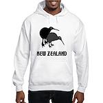 Funny New Zealand Kiwi Hooded Sweatshirt