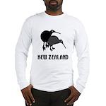 Funny New Zealand Kiwi Long Sleeve T-Shirt