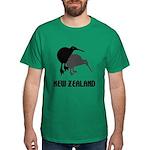 Funny New Zealand Kiwi Dark T-Shirt