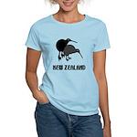 Funny New Zealand Kiwi Women's Light T-Shirt