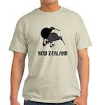 Funny New Zealand Kiwi Light T-Shirt