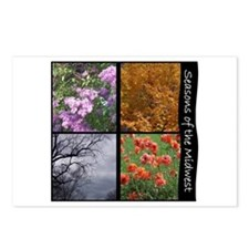 Postcards (Package of 8) - midwest seasons