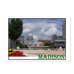 Postcards (Package of 8) - madison