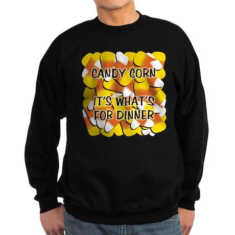 Candy Corn for Dinner Sweatshirt (dark)