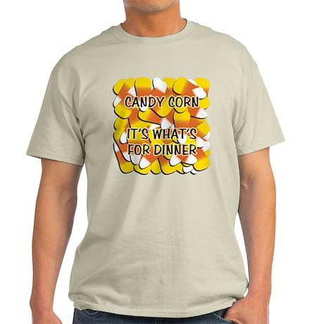 Candy Corn for Dinner Light T-Shirt