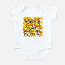 Candy Corn for Dinner Infant Bodysuit