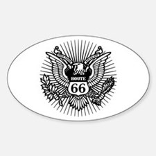Official Rt. 66 Oval Decal