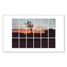 Winnipeg Sunrise Rectangle Decal