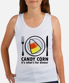 Candy Corn for Dinner Women's Tank Top