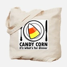 Candy Corn for Dinner Tote Bag