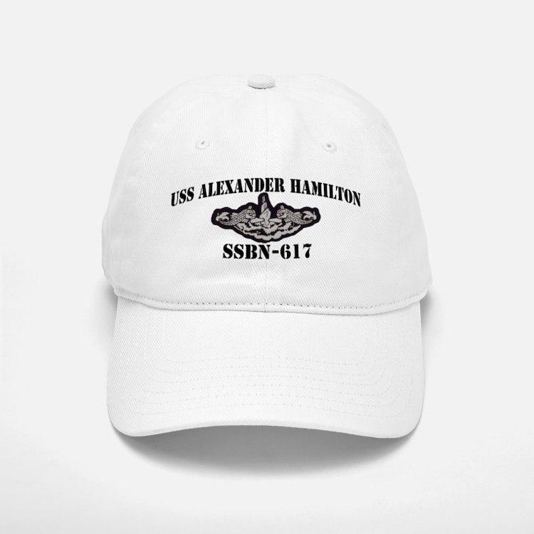 USS ALEXANDER HAMILTON Baseball Baseball Cap
