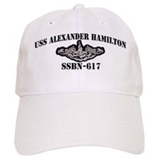 USS ALEXANDER HAMILTON Cap