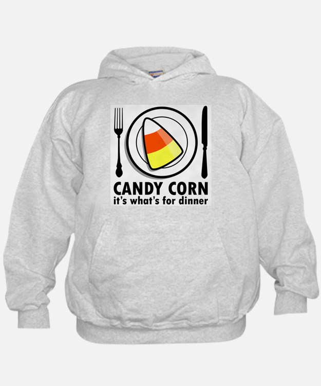 Candy Corn for Dinner Hoodie
