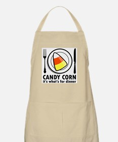 Candy Corn for Dinner BBQ Apron