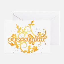 Eco-stylin' Greeting Card
