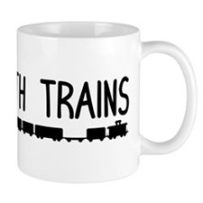 Plays With Trains Mug