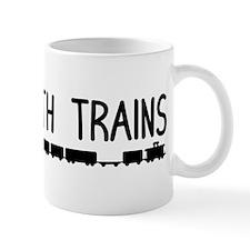 Plays With Trains Mug