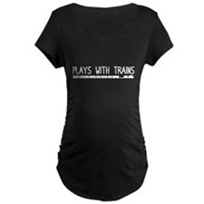 Plays With Trains T-Shirt