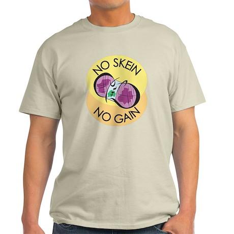 No Skein No Gain Light T-Shirt