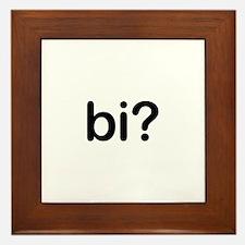 Bi? Framed Tile