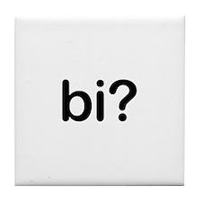 Bi? Tile Coaster