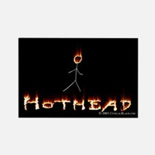 Hothead Rectangle Magnet