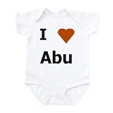 I love Abu Onesie