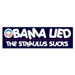 Obama Lied Bumper Sticker (10 pk)