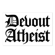 Devout Atheist Postcards (Package of 8)