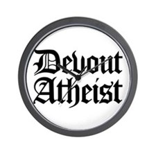Devout Atheist Wall Clock