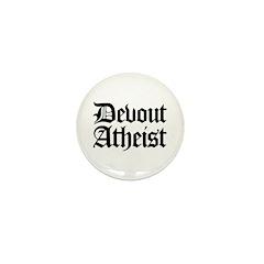 Devout Atheist Mini Button (10 pack)