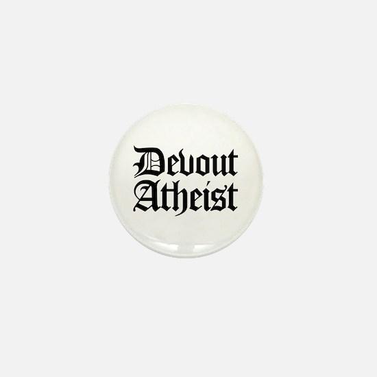 Devout Atheist Mini Button