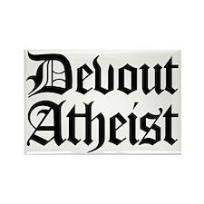 Devout Atheist Rectangle Magnet
